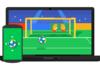 Expérience Chrome : mini-jeux de foot pour la Coupe du Monde
