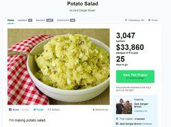 kickstarter salade