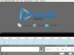 Kijio - Subtitle Editor screen 2