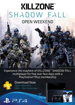 Killzone Shadow Fall - open week end