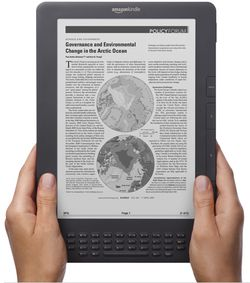 Kindle DX nouveau
