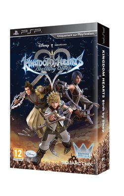 Kingdom Hearts Birth By Sleep - pack collector