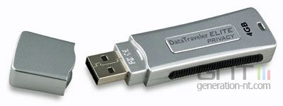 Kingston data traveler elite privacy edition