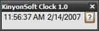 KinyonSoft Clock