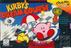 Kirby\\\'s Dream Course - Pochette