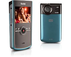 Kodak Zi8 bleu