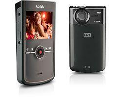 Kodak Zi8 noir