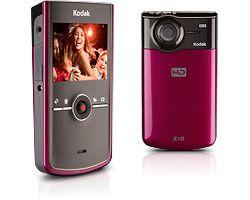 Kodak Zi8 rose