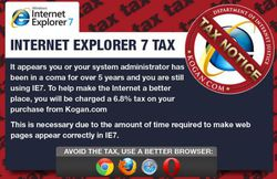 Kogan-IE7-taxe-notification
