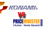Konami vs priceminister