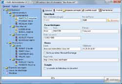 KoXo Administrator screen 1
