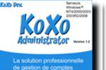 KoXo Administrator : gérer vos comptes de stockage sur des serveurs
