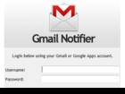 Kwerty Gmail Notifier : garder un contact permanent avec votre boîte Gmail