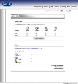 LaCie Big Disk Admin