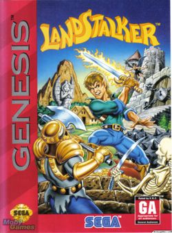 Landstalker   Packaging