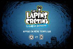 Lapins Crétins le Grosse Aventure