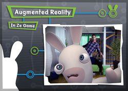 Lapins cretins Kinect