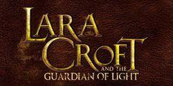 Lara Croft et le Gardien de la Lumière - Logo