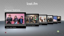 Last.FM interface (3)