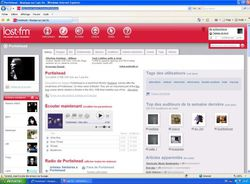 Last.fm Player screen2