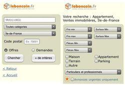 Leboncoin.fr mobile 1
