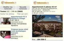Leboncoin.fr mobile 2