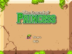 Legend of princess logo