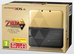 Legend of Zelda : A Link Between Worlds - bundle 3DS - 1