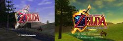 Legend of Zelda : Ocarina of Time 3D - 1