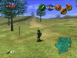 Legend of Zelda : Ocarina of Time   Image 1