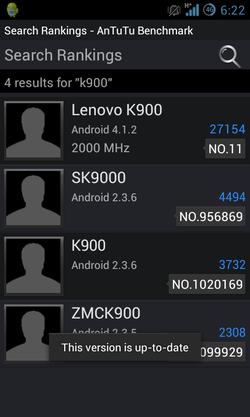 Lenovo K900 Clover Trail benchmark 01