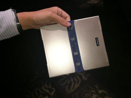 Lenovo tablette repliable dos