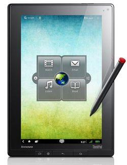 Lenovo ThinkPad Tablet avant