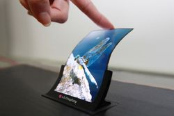 LG 5 pouces écran flexible