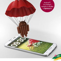LG Android KitKat update