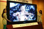 LG écran LCD 2,5 mètres