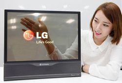 LG écran OLED transparent