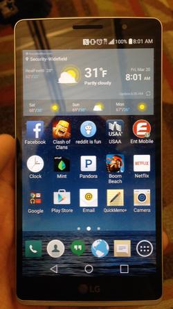 LG G4 front avant