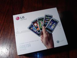 LG KM900 Arena packaging