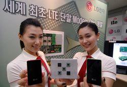 LG LTE chipset