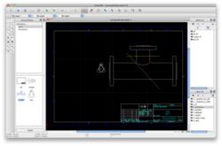 LibreCAD screen1