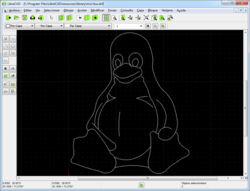 LibreCAD screen2