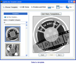 LightScribe Template Labeler screen2
