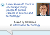 Bill Gates : de Facebook à LinkedIn