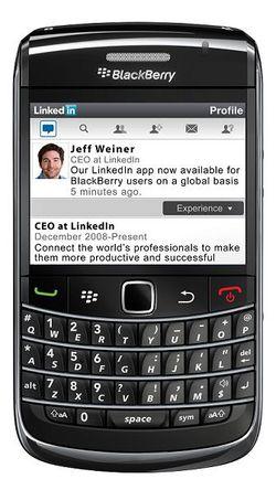LinkedIn Blackberry