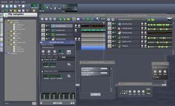 Linux MultiMedia Studio screen2