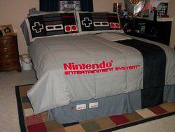 Lit Nintendo NES 1