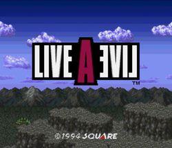 Live A Live - SNES