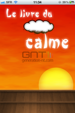 Livre Calme iPhone 002