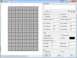 Log Paper screen 2
